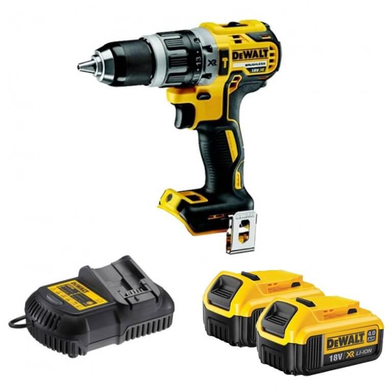 Dewalt 18v Xr Brushless Hammer Drill Driver 4 0ah