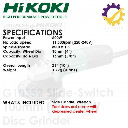 g10ss2 specification