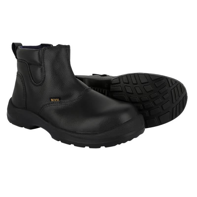 Nitti 22681 Mid Cut Zipper Safety Shoes Misterkio Singapore